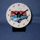 New  1968 Blue Pontiac Firebird  desk clock!
