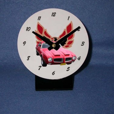 New  1971 Pontiac Firebird Formula desk clock!