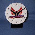 New  1973 Maroon Pontiac Formula Firebird desk clock!