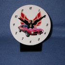 New  1973 Red Pontiac Formula Firebird desk clock!