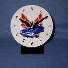 New  1974 Blue Pontiac Formula Firebird desk clock!