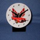 New  1974 Red Pontiac Formula Firebird desk clock!