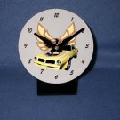 New Yellow 1976 Pontiac Firebird Trans AM desk clock!