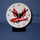 New  1977 Red Pontiac Formula Firebird desk clock!