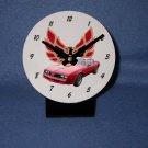 New Red 1977 Pontiac Firebird Trans AM desk clock!