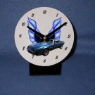 New Dark Blue 1980 Pontiac Firebird Trans AM desk clock!