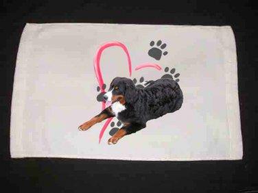 New Bernese Mountain Dog Hand Towel