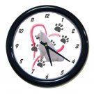 New American Eskimo Wall Clock