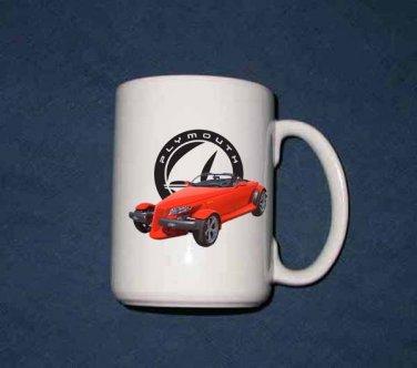 New 15 oz. 1999 Plymouth Prowler mug!