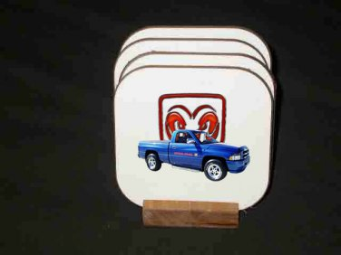 Beautiful Dodge RAM Indy pace pickup Hard Coaster set!