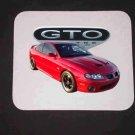 New 2006 Red Pontiac GTO Mousepad!