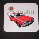 New 1980 Red Pontiac Sunbird Mousepad!