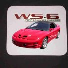 New 2001 Pontiac Trans AM WS6 Mousepad!