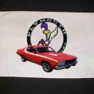 New 1974 Plymouth Roadrunner Hand Towel