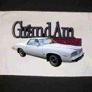 New 1973 Pontiac Grand AM Hand Towel