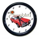 New 1980 Pontiac Sunbird Wall Clock