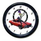 New 1974 Plymouth Roadrunner Wall Clock