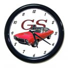 New Red 1969 Buick Gran Sport Wall Clock