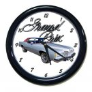 New 1977 Pontiac Grand Prix Wall Clock