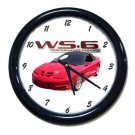 New 2001 Pontiac WS6 Trans AM Wall Clock