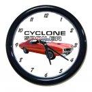 New 1970 Mercury Cyclone Spoiler Wall Clock