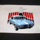 New Lt. Blue 1967 Pontiac Firebird Hand Towel