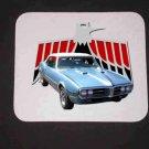 New Lt. Blue 1967 Pontiac Firebird Mousepad!