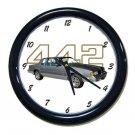 New Silver 1987 Olds Cutlass 442 Wall Clock
