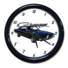 New 1969 Dodge Charger Wall Clock