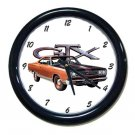 New 1969 Plymouth GTX Wall Clock
