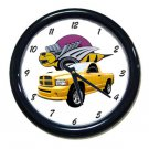 New 2005 Dodge Rumble Bee Wall Clock