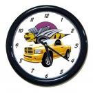 New 2005 Dodge Rumble Bee Wall Clock