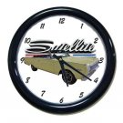 New 1966 Plymouth Satellite Wall Clock