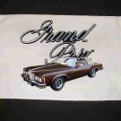 New Brown 1977 Pontiac Grand Prix Hand Towel