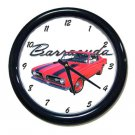 New 1969 Plymouth Cuda Wall Clock