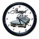 New 1965 Pontiac Grand Prix w/LOGO Wall Clock