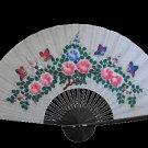 Asian Fan, Butterflies In Springtime #35