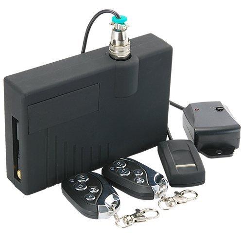 Fingerprint Car Security System with GSM Alerts New