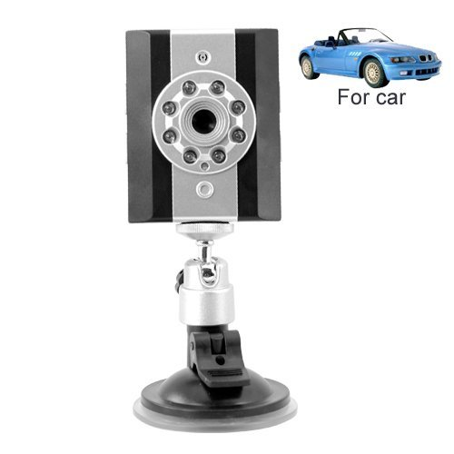 Vehicle Video Recorder with Infra Red + In-Car Mounting Stand New