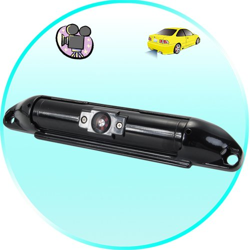Car Rear View Camera with Wide Angle Lens + Up/Down Adjustment New