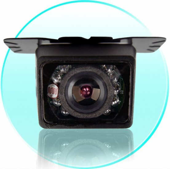 Adjustable Angle Car Rear View Reversing Camera - PAL New