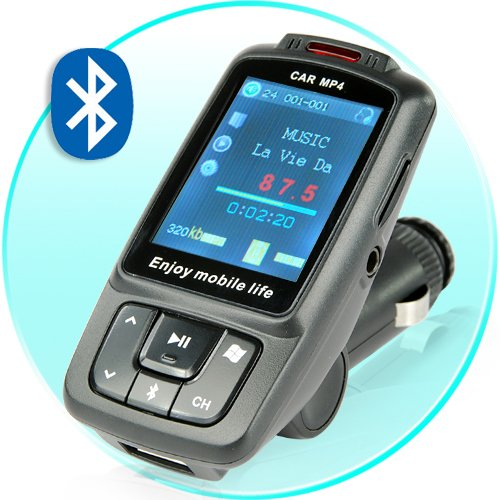 Car MP3 MP4 Player with Bluetooth (Black) New