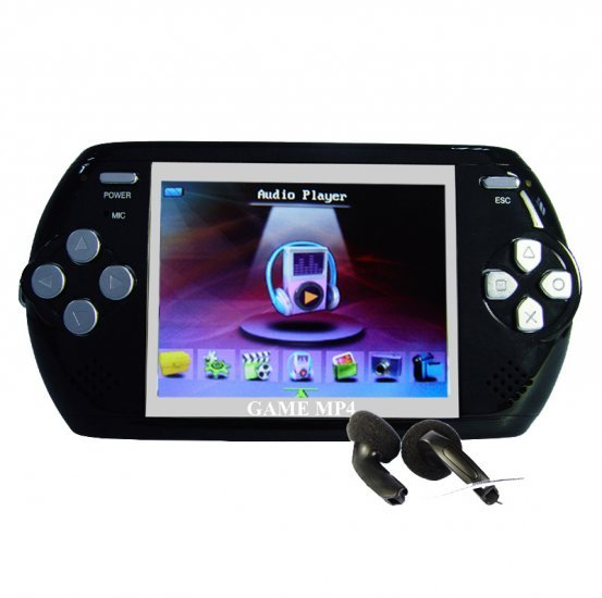 Digital Multimedia Player (MP3, MP4, Camera, Games, Large LCD) New