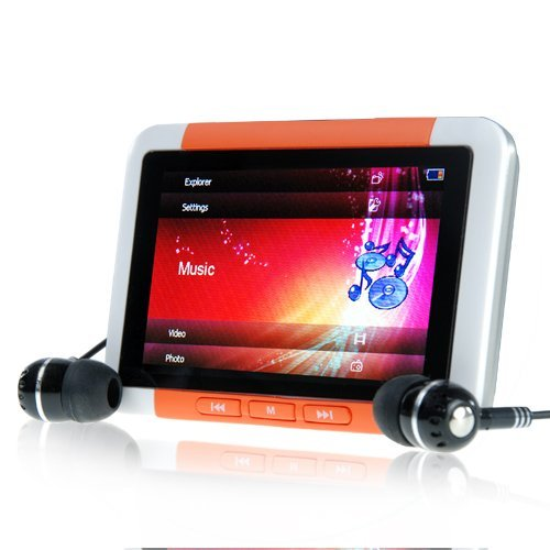 8GB MP4/MP3 Player with 3 Inch LCD - Video File King Edition New