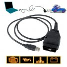 VAG-COM Tacho 2.5 USB to OBD-II Interface Cable New