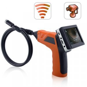 Wireless Inspection Camera with 3.5 Inch Color Monitor + DVR New