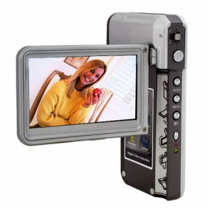 5MP Sleek Photo and Video Camera with 3 Inch Swivel Screen New