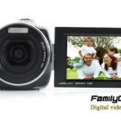 Family HD Camcorder with 3 Inch Screen + Dual SD Card Slots New