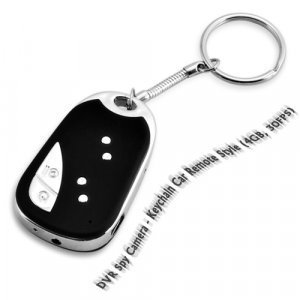DVR Spy Camera - Keychain Car Remote Style (4GB, 30FPS) New