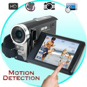 Deluxe HD Camcorder with 3 Inch Touchscreen + 60FPS New